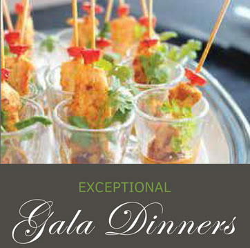 Exceptional Gala Dinner