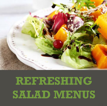 Refreshing Salad Menus