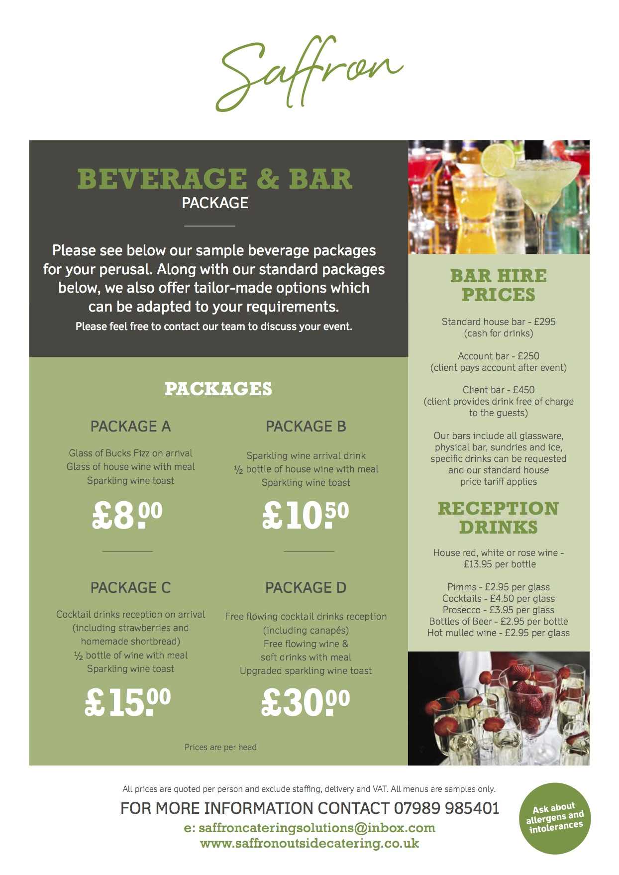 BEVERAGE AND BAR 1 - Beverage and Bar