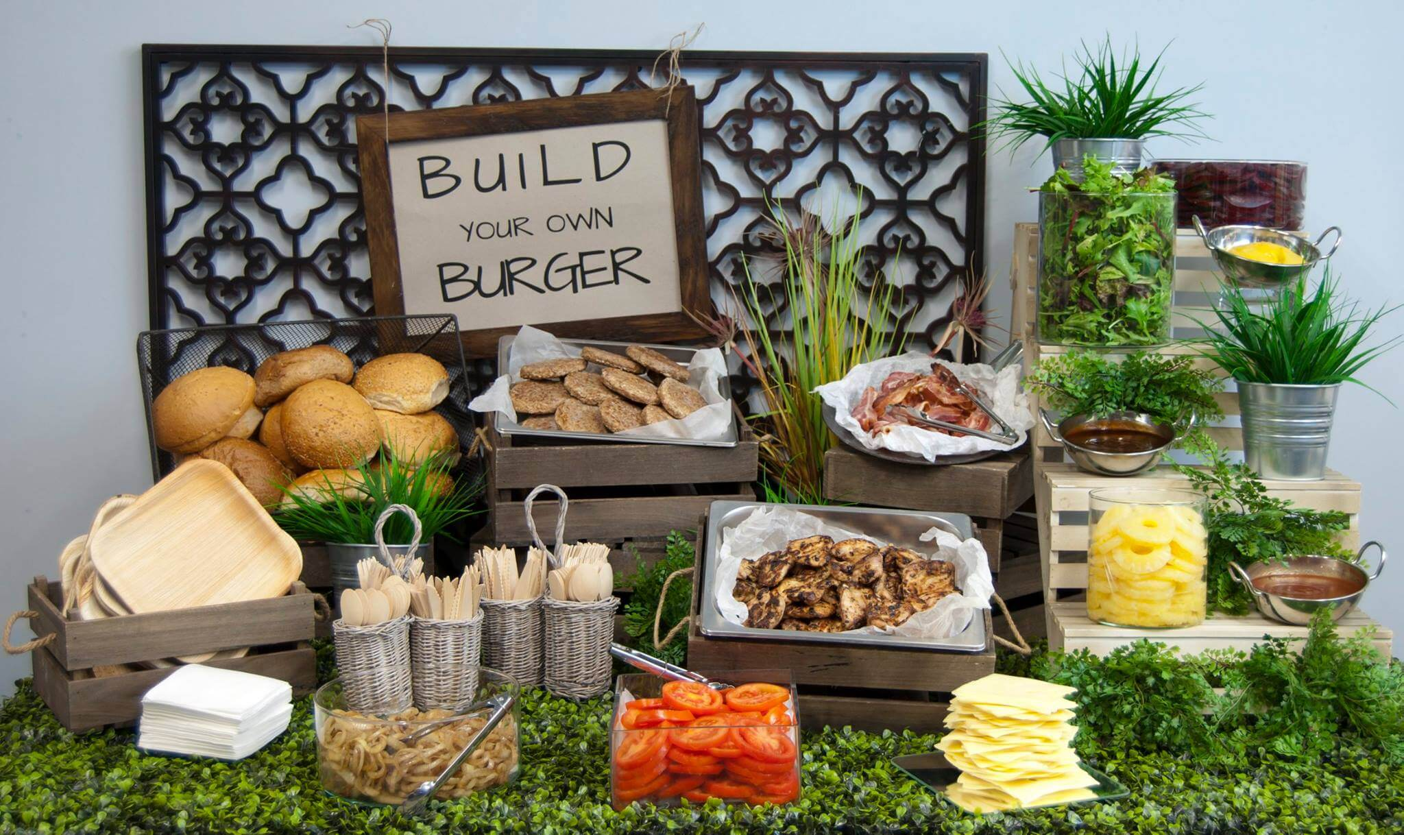 Build a burger - Food Trends
