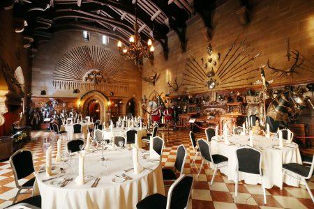 Warwick Castle Standard Set up 450x300 - Catering in Castles!