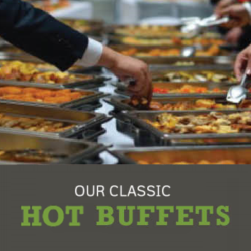 hot buffets - Menus