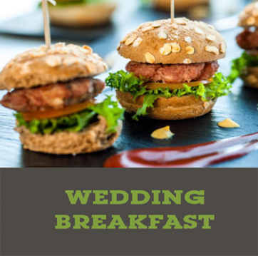 wedding breakfast - Menus