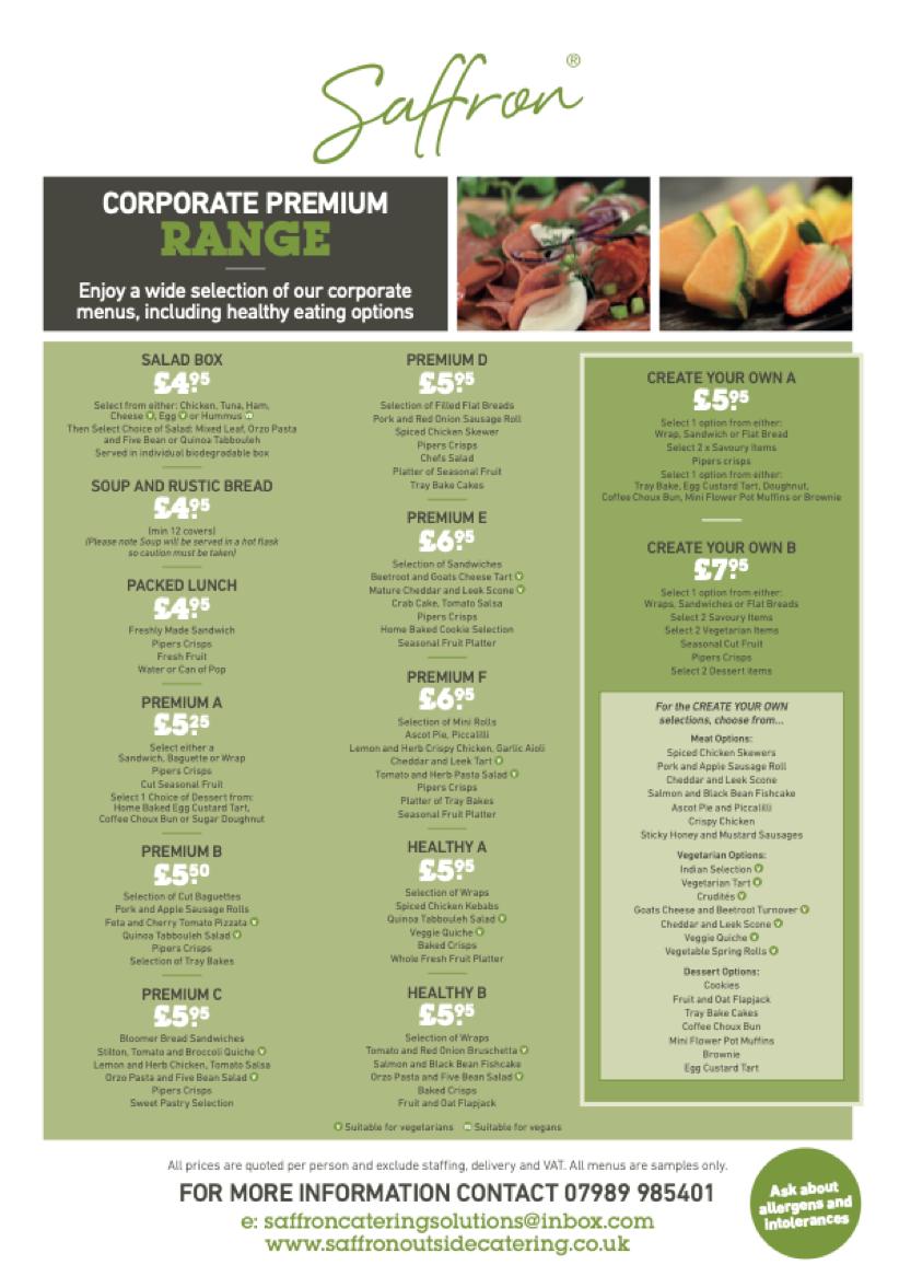 Corporate Premium Range 1 - Corporate Premium Range
