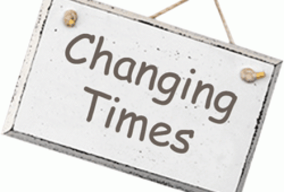 Changing times - Changing Times
