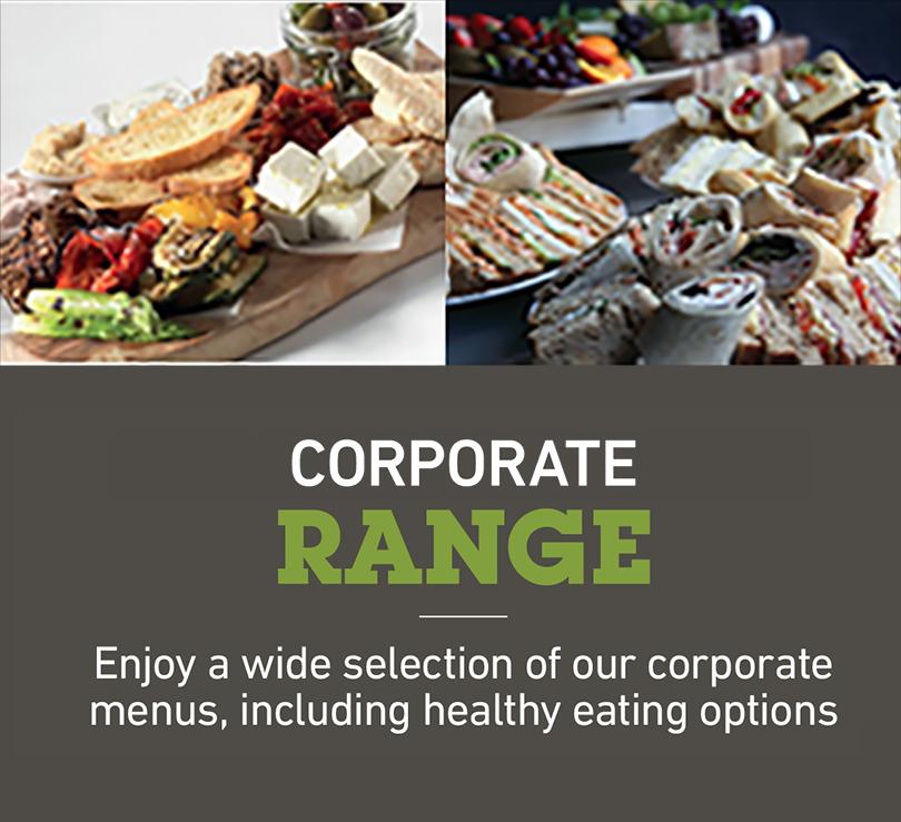 corporate lunch range - Menus